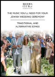 The music you'll need for your Jewish ceremony - traditional and alternative song