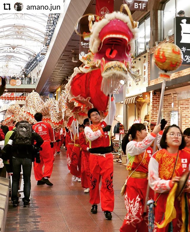 #RepostPlus @amano.jun - - - - - - 🐲The Chinese New Year of Nankin town in Kobe. Dragon Parade of Pre event🎇 🐲🎇 A golden dragon (Rong Rong) of 47m in total length goes round in downtown of Kobe. #kobenankinmachi #chinesedance #chinatown #chineseculture #nankinmachi #dragondance #chinesenewyear #motomachi #kobe #festival #chinesefestival #igs_asia #lovers_nippon #IGersJP #wu_japan