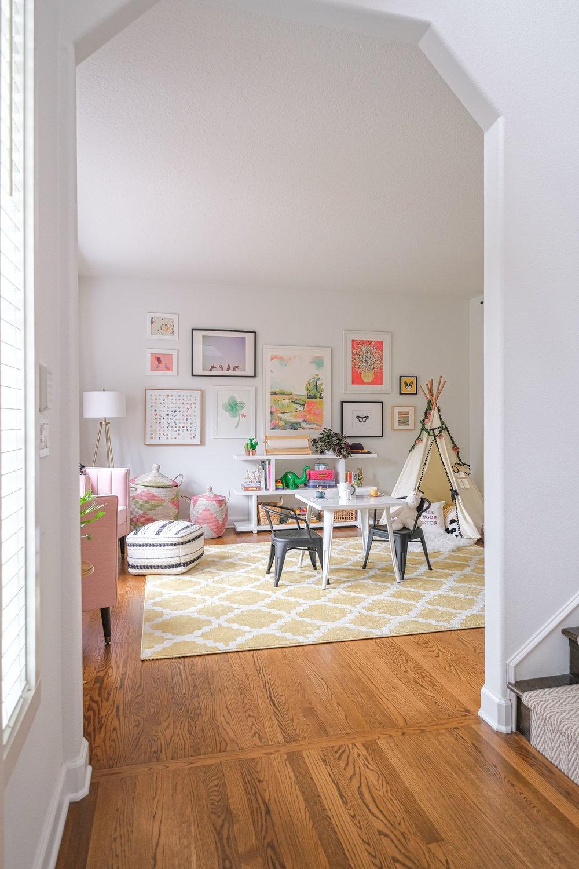 Modern Cheerful Playroom by Harper Rae Design Co (2)