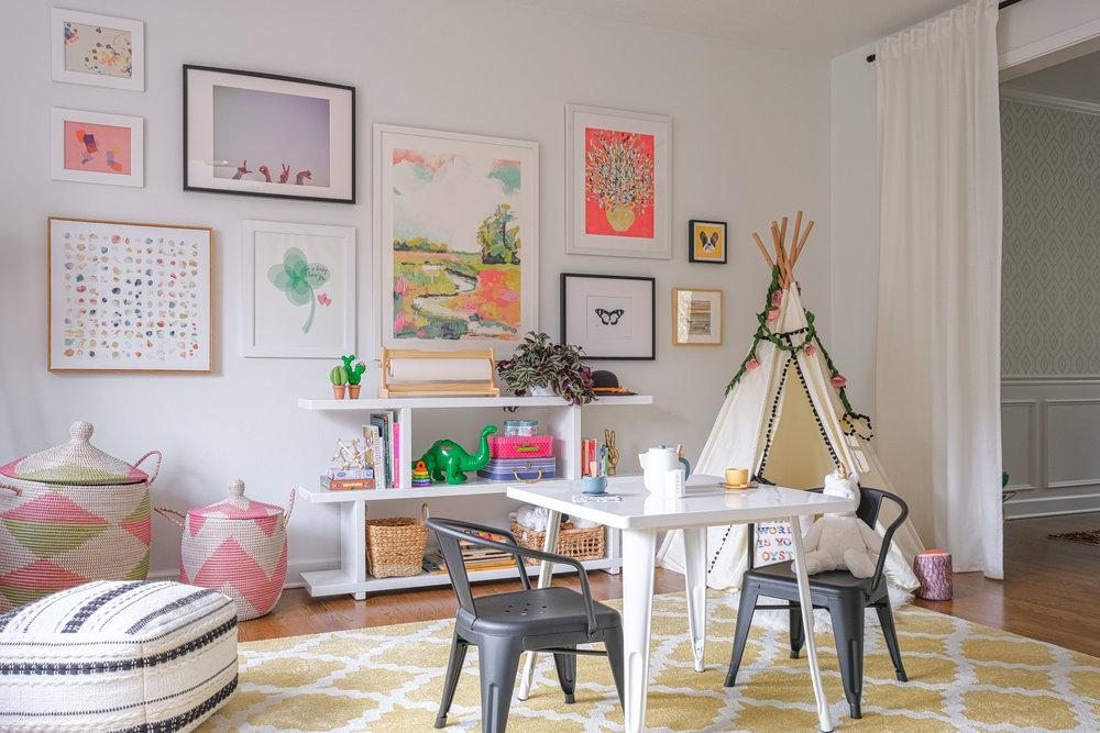 Modern Cheerful Playroom by Harper Rae Design Co (3)