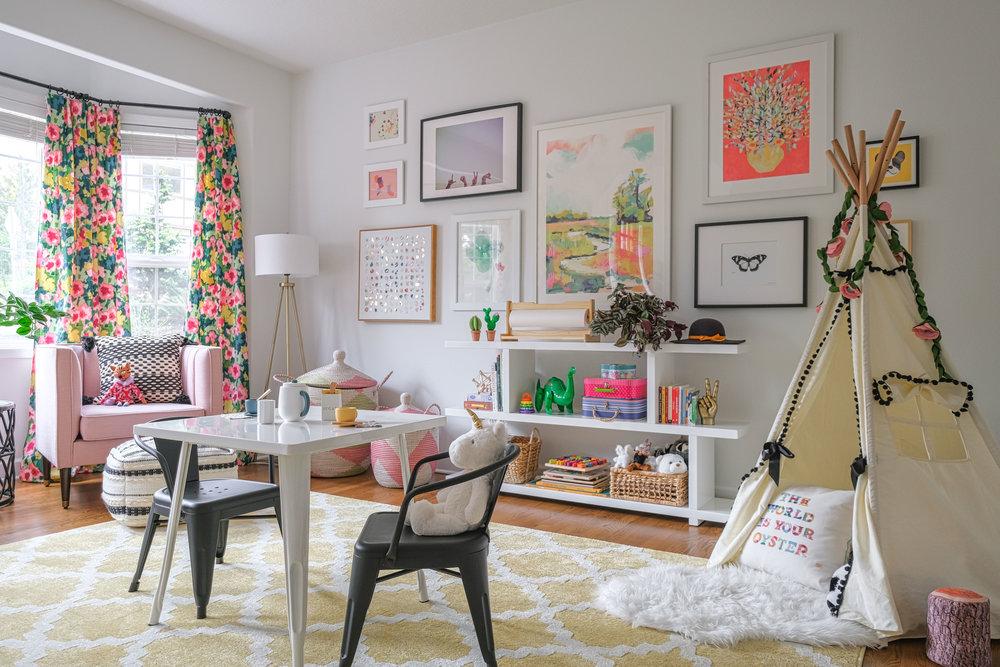 Modern Cheerful Playroom by Harper Rae Design Co (9)
