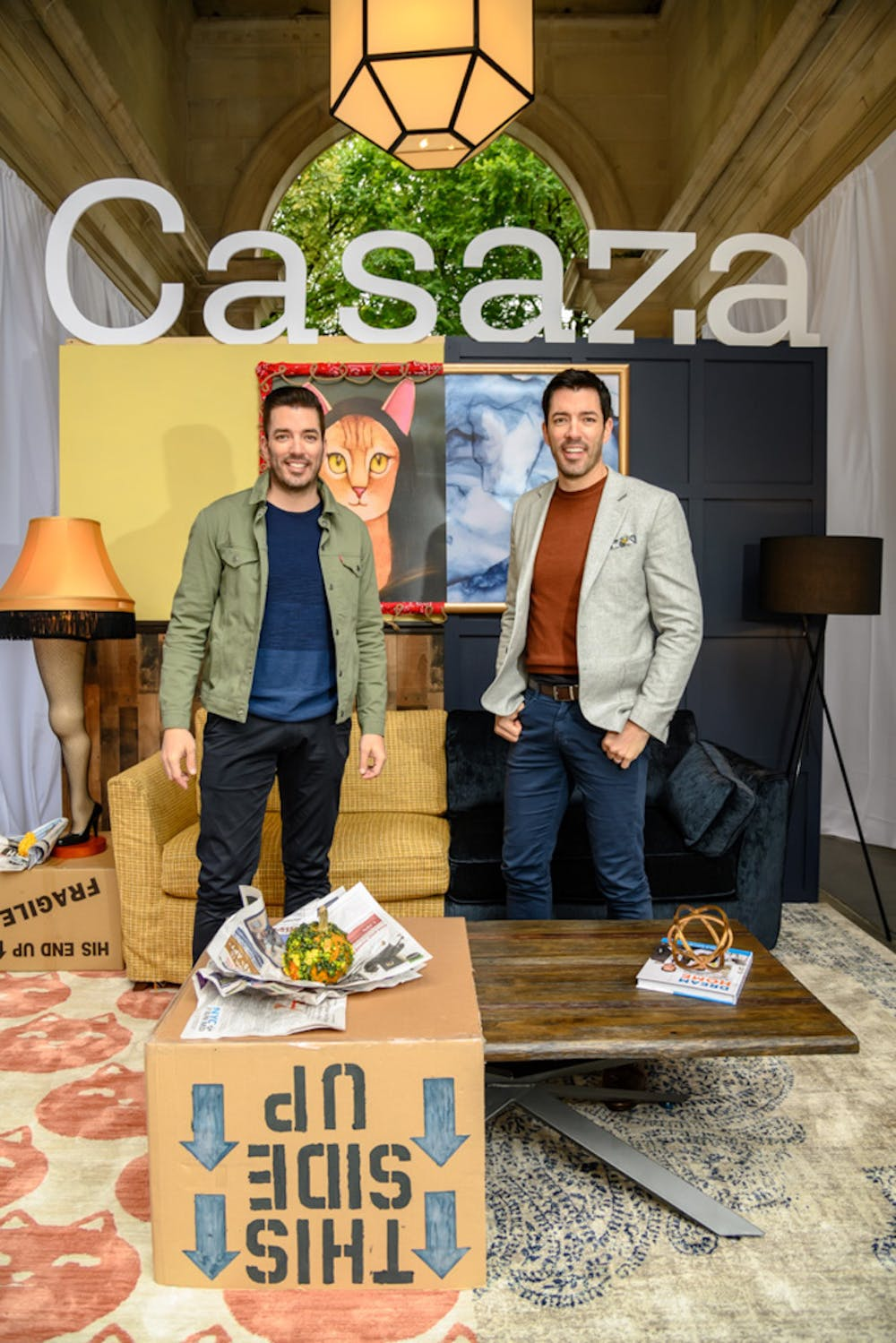 Partnership with Casaza - A great outlet to showcase our designs