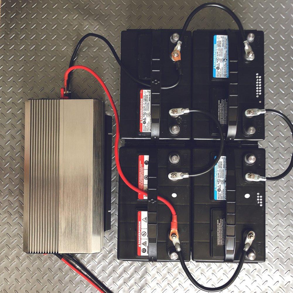 Commander Kit Battery Bank