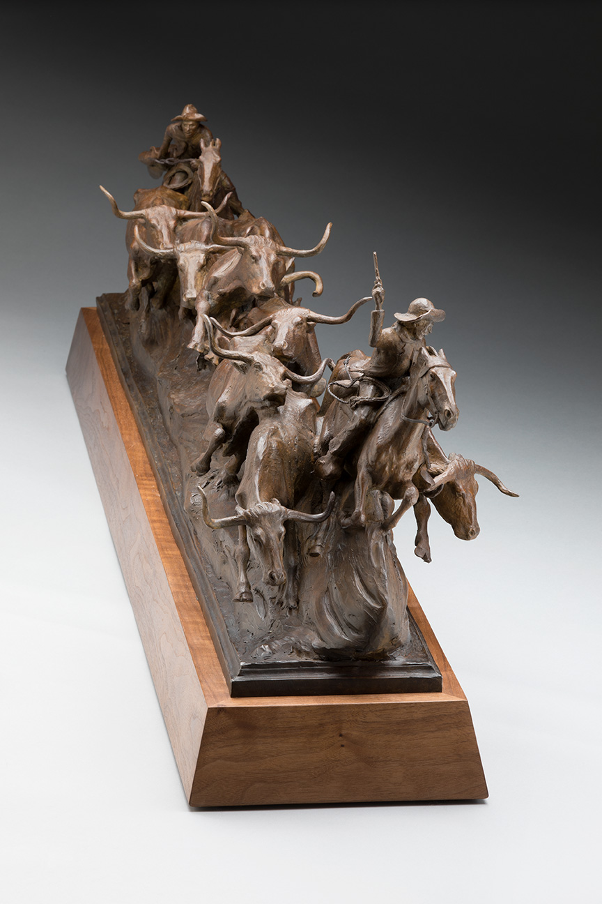 The Midnight Storm, Cattle Drive Art