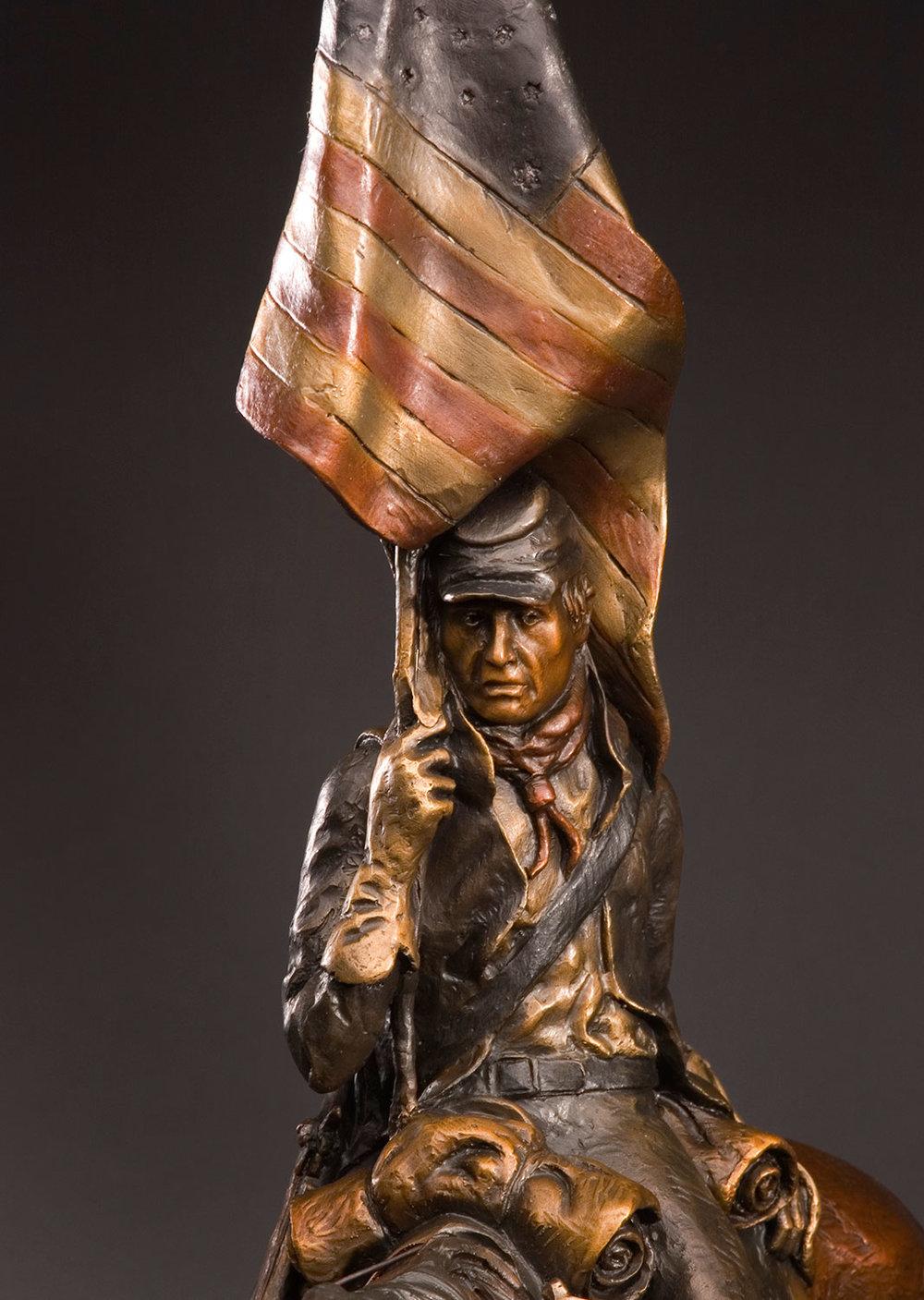 Distant Drums, Historical Art, Patriotic, Soldier