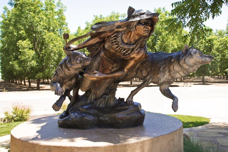 Prairie Allies - Monument