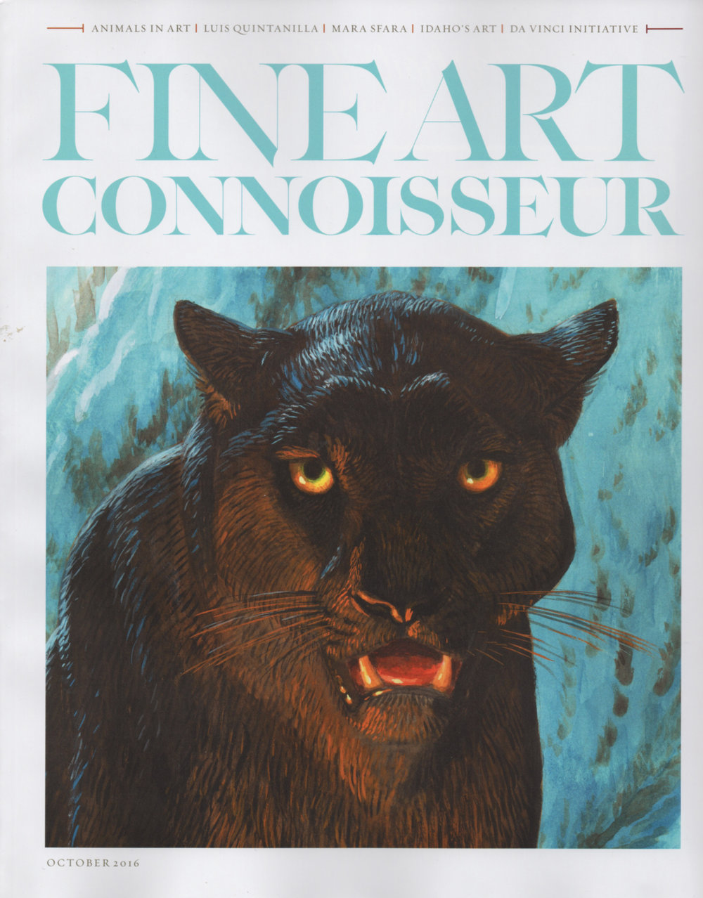 Fine Art Connoisseur | October 2016