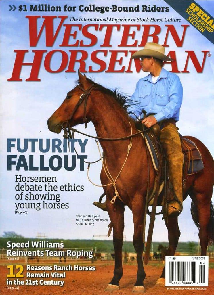 Western Horseman | June 2009