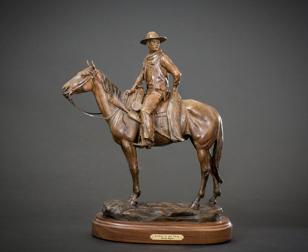 Father of the Trail & Charles Goodnight Life-size Monuments