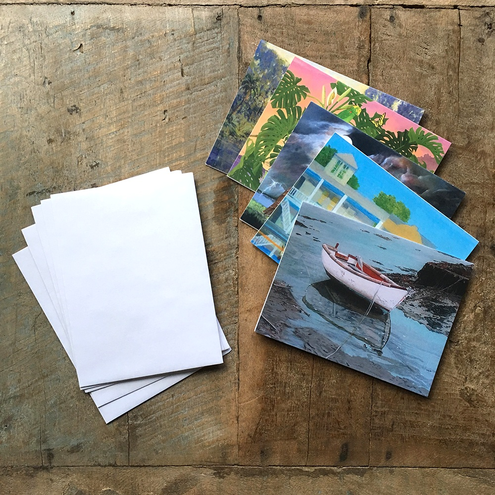 5 blank cards with envelopes - $10 -