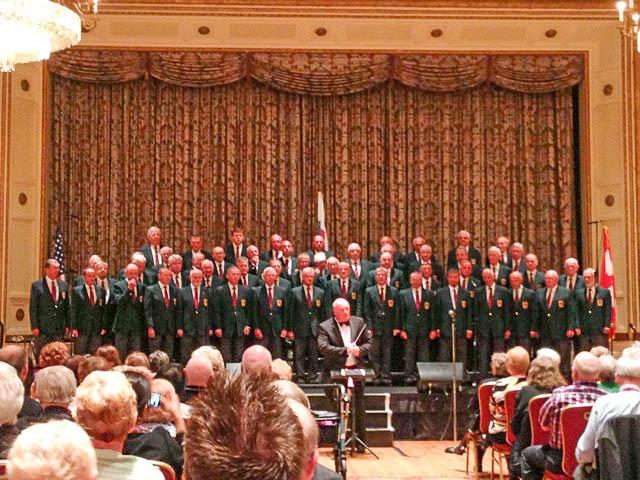 Pontarddulais Choir at NAFOW.