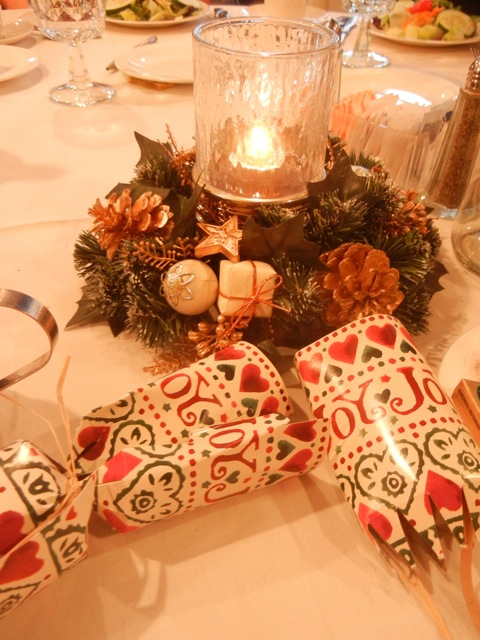 Christmas Tables at WSWNE's Christmas Gathering