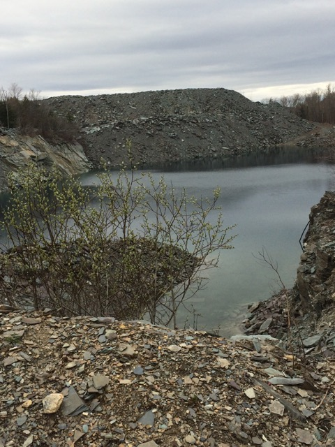 Disused Slate Quarry in Granville, NY