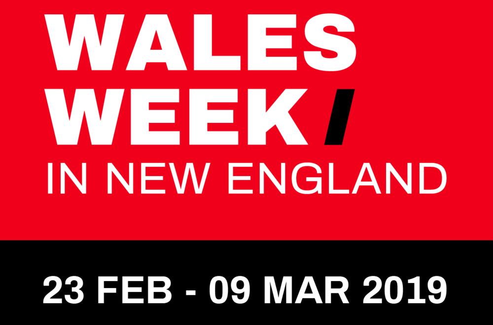 WALES WEEK in NEW ENGLAND logo