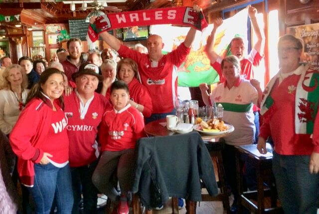 WSWNE cheers Wales to victory in the 6 Nations final game