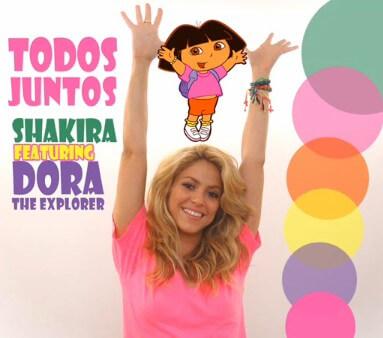 """Todos Juntos"" Dora ft. Shakira"