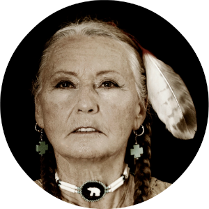 Brooke Medicine Eagle is a legendary Earthkeeper, wisdom teacher, mentor, healer, visionary, singer/songwriter, shamanic practitioner, catalyst for wholeness, and sacred ecologist.