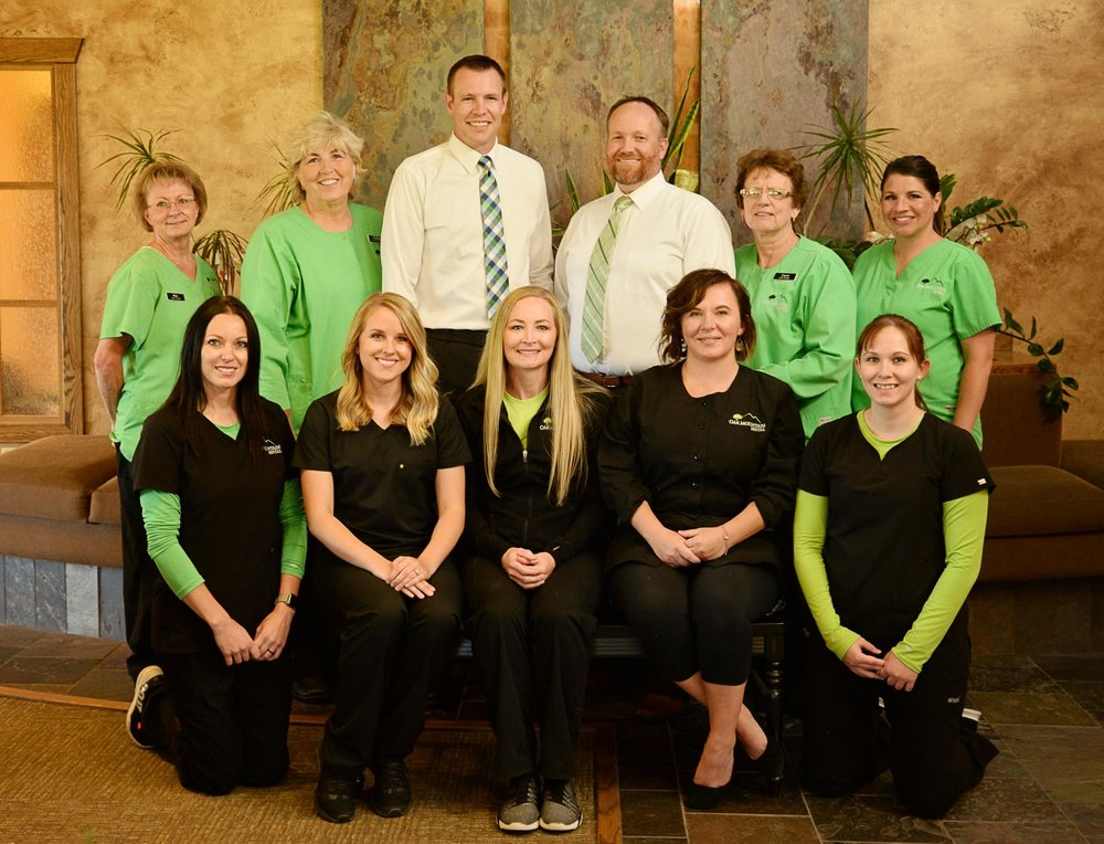 The team at Oak Mountain Dental of Pocatello, Idaho