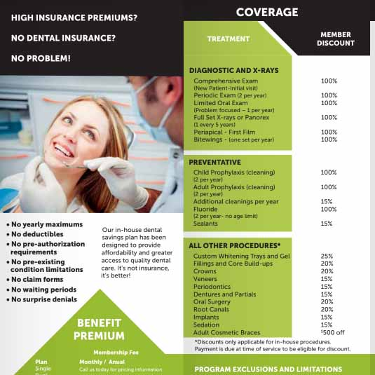 Oak Mountain Dental of Pocatello Brochure Preview