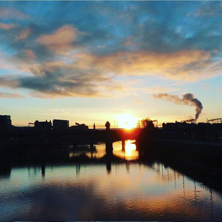 River Clyde sunset.JPG