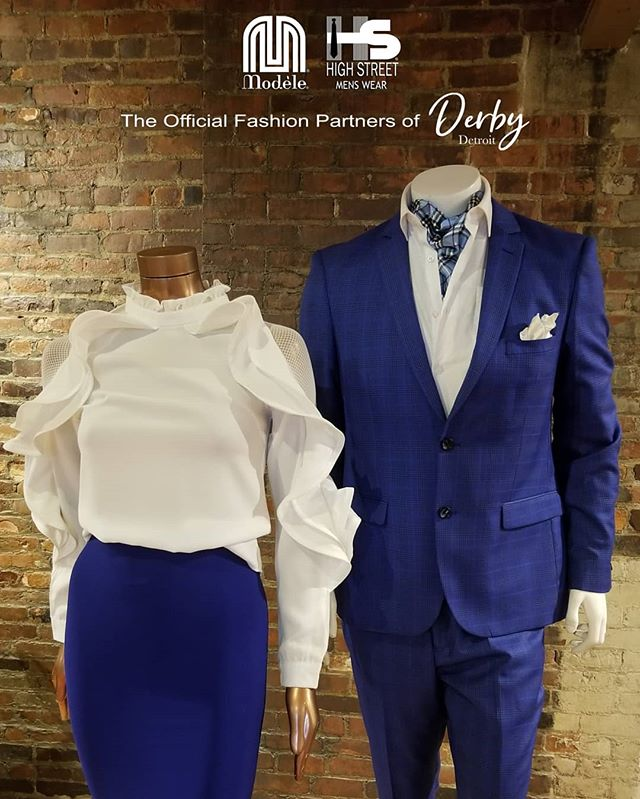 Couples, are you looking for that special outfit for Derby Detroit. Check out the Fashion Partners for Derby Detroit. Modele Dress &High Street Menswear. Get to know us! #womenfashion #womenswear #ladiesfashion #glam #gettoknowus #fashionista #fashion #fashionblogger #derbyfashion #derbyhat #easternmarket #tieshopping #bowties #dressshirts #sportcoats #fashionindetroit #mensfashion