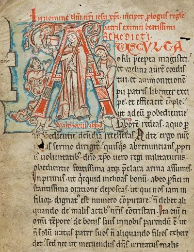 Regula sv. Benedikta - foto: splet