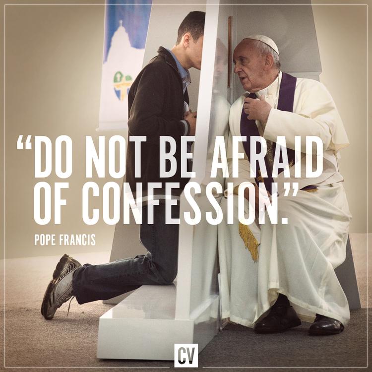 Papež Frančišek spoveduje udeleženca svetovnega srečanja mladih v Braziliji leta 2013 (foto: getreligion.org)