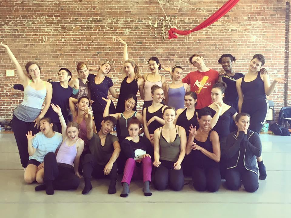 Post:Ballet workshop.