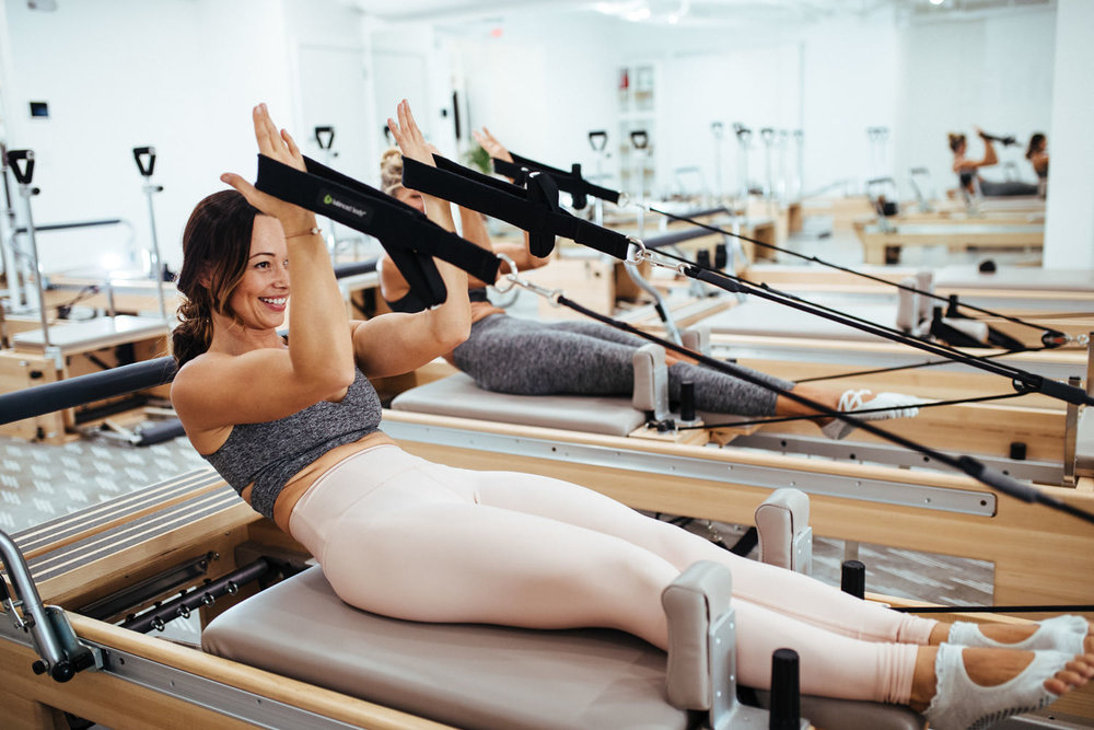 Empower - Pilates… accelerated. Using the Pilates Republic custom reformers in their full glory, this is the workout your body craves.