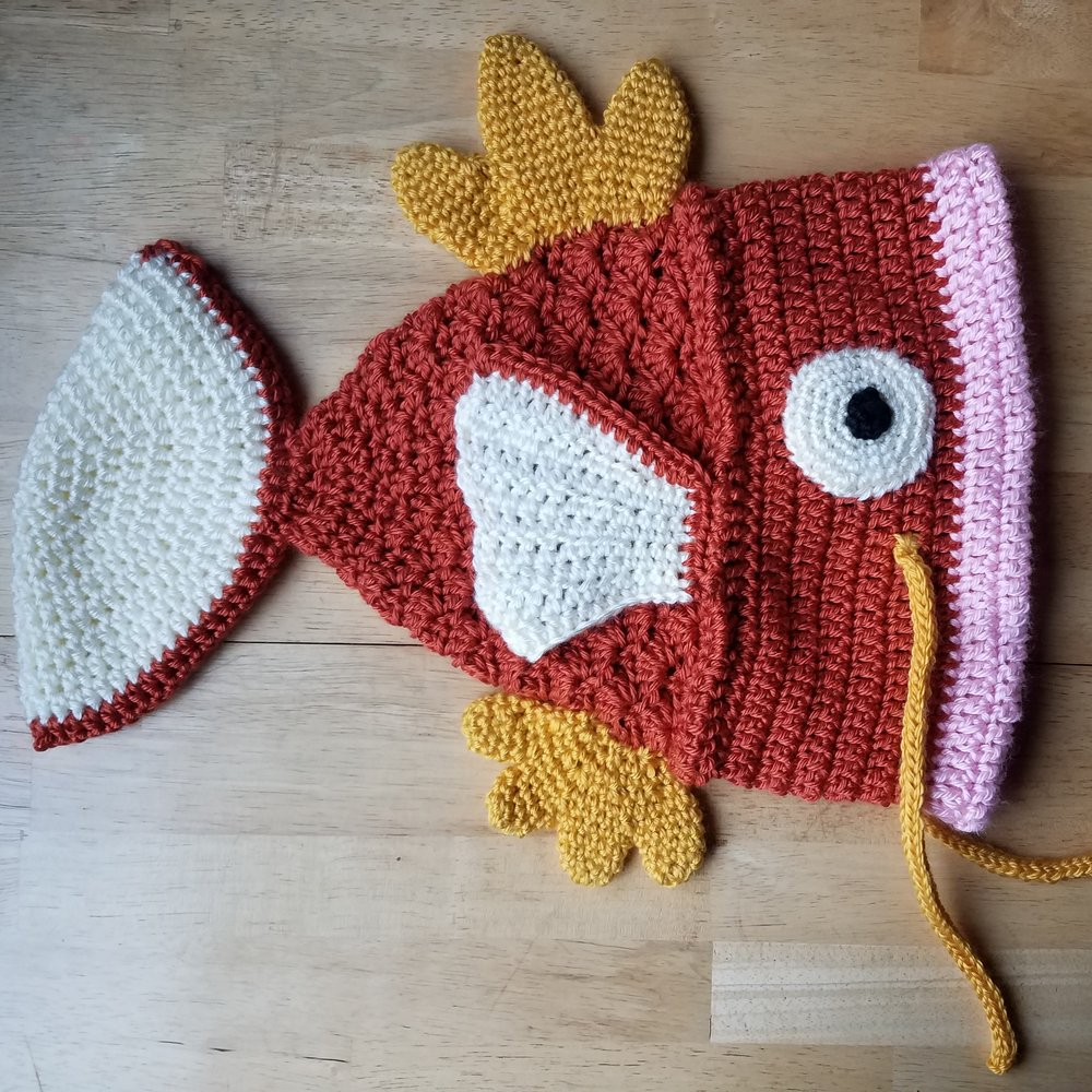 Crazy Crocheted Catch Of The Day Apothekori