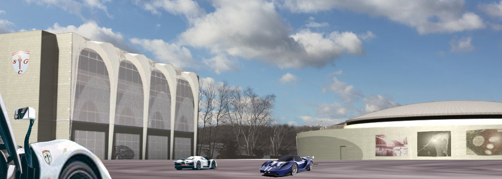 Concept Design for new Danbury Factory by Lead Architect Tonja Adair at Splice Design
