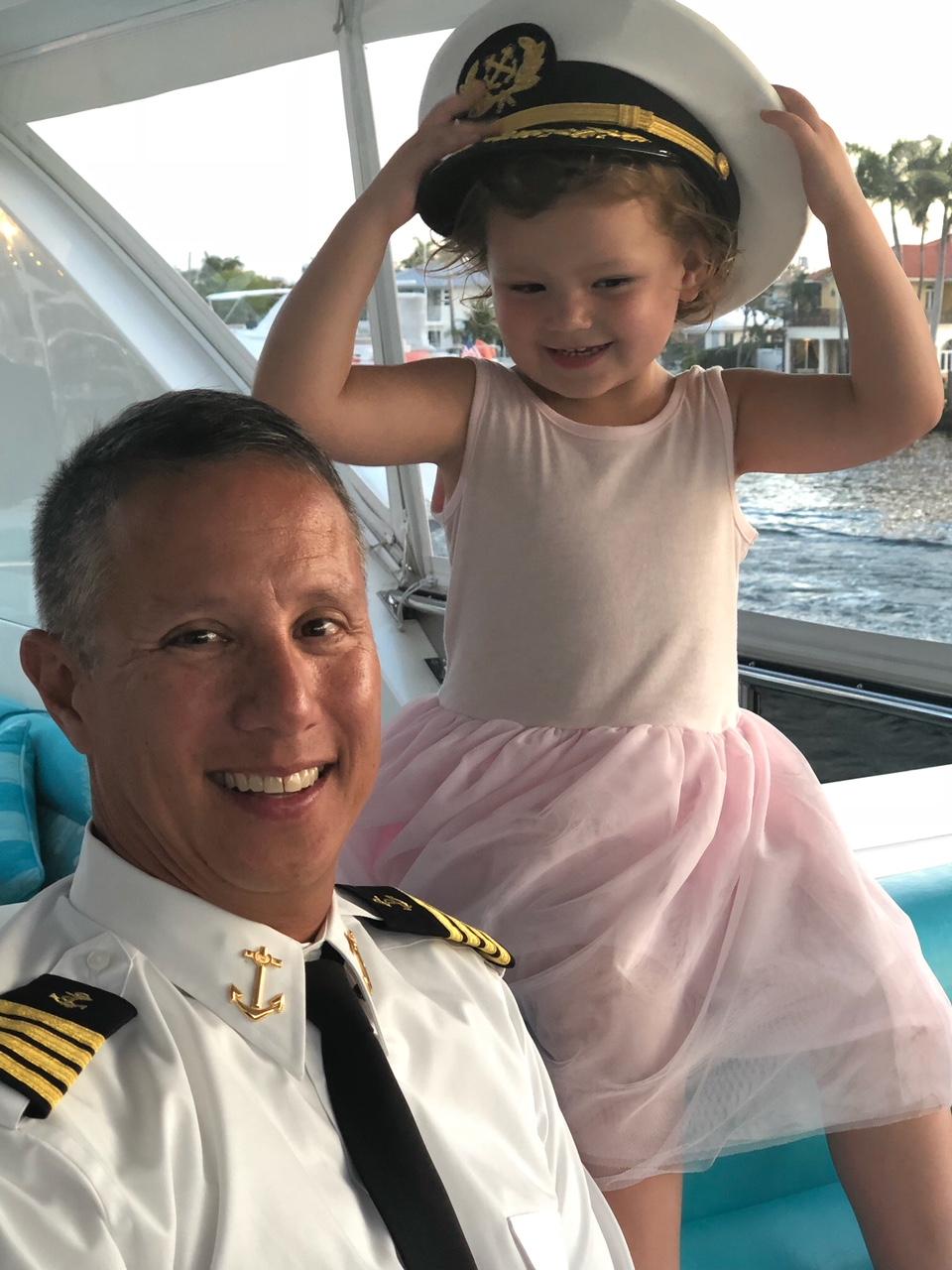 Luxury Charter Yacht Cynderella Captain Paul