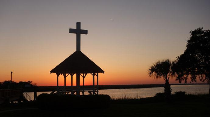 Photo by Diane Degnan, United Methodist Communications   Epworth by the Sea - scenic photo of the Christian retreat center in St. Simons Island, Ga. named to honor the boyhood home of John and Charles Wesley. The center is a hospitality ministry of the South Georgia Conference of the United Methodist Church providing a place for worship, study and fellowship.