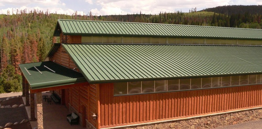 Metal roofing is ideal for any application. Pole barns, homes and businesses alike can reap the benefits of a high quality metal roof. Designed to last for the life of the building, metal roofs are a great alternative to shingles.