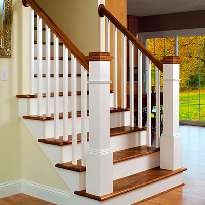 Add a distinctive touch to any project with a unique staircase by L.J. Smith. With multiple design options available, it's easy to create a staircase that stands out and easily becomes the centerpiece of any design.