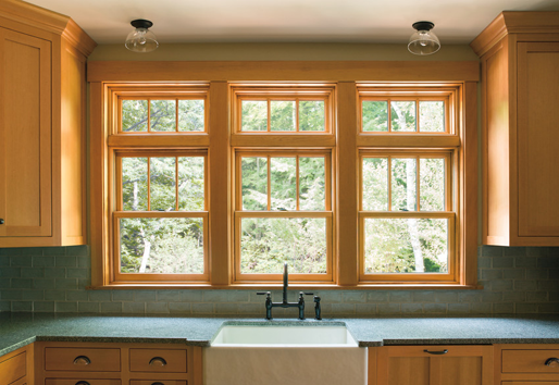 For a more timeless look, Andersen wood windows are a perfect fit. Offering thermal performance beyond what vinyl can offer along with interior beauty, wood windows are a great addition to any project.