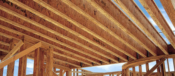 Engineered lumber is great for larger applications where a stronger, straighter, more uniform application is needed. For I-Joists, Open Joists and Rim Boards, Genesee will do the takeoff materials estimate for you and can have the product shipped directly to the job site. We also stock glulams and timberstrands in various sizes.