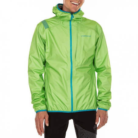 La Sportiva Odyssey GTX Jacket - Using the lightest Gore-tex Active fabric on the market, the Odyssey GTX is a featherweight shell that offers protection against wind and water.