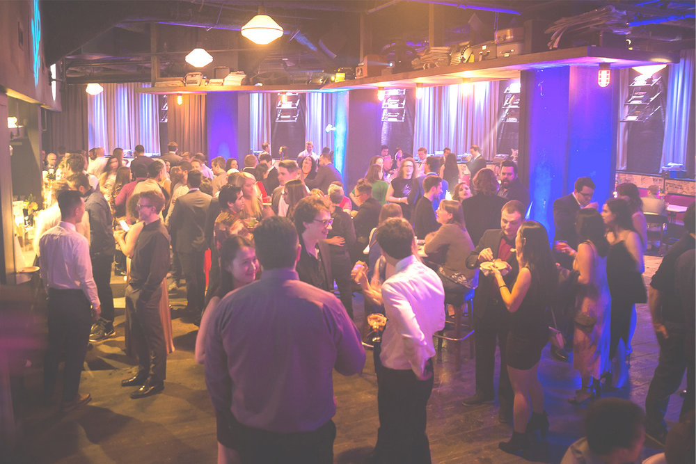 Standing Receptions - Up to 250 guests at once, more welcomed on a flow