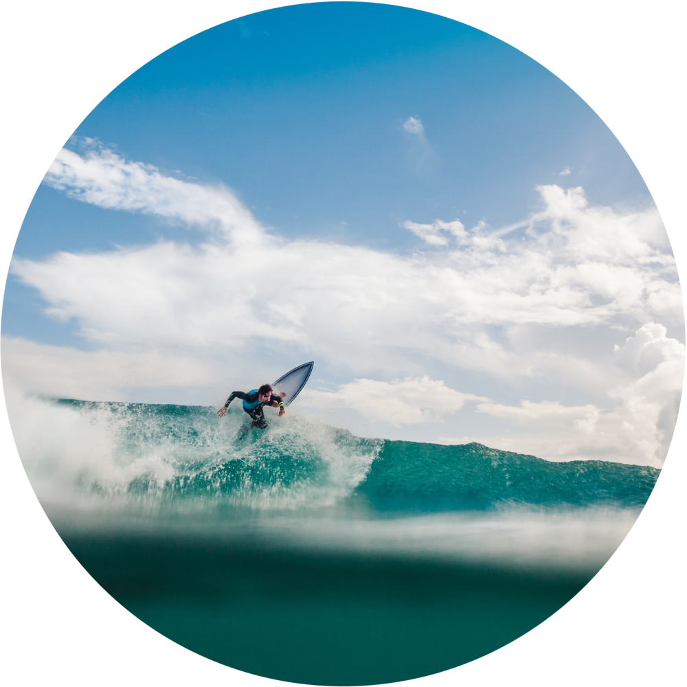 Surfing - Fall is the best time to surf in SLO county, usually September and October see the best surfing. Oily glass, long-interval west swells, light crowds... Orderly swells and ideal traveling weather couple to make the Central Coast a joyous grab bag for surfing.