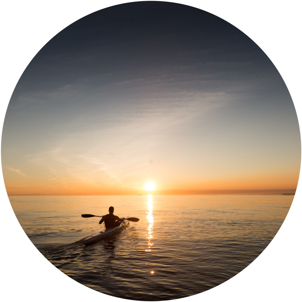 Kayaking - Explore the area from the water. Some areas along the central coast are protected from the open ocean by scenic coastline and the weather is moderate year round, creating an ideal place for beginners, families and experts to kayak.