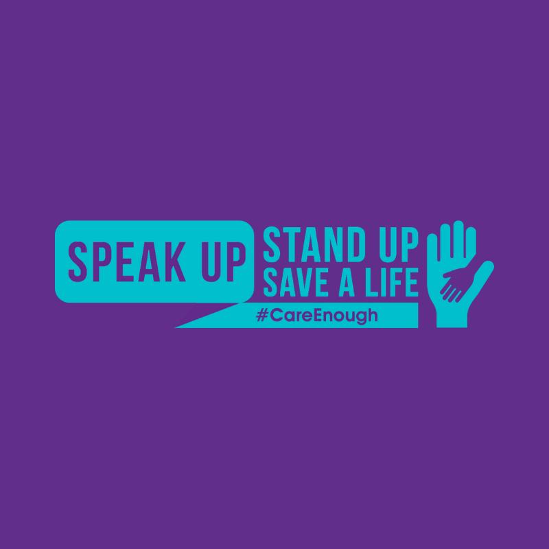 speak stand save