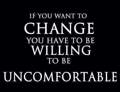 Get uncomfortable and watch all that unfolds! #BeSmart #BeMiraSmart #changeisgood #changeyourviews
