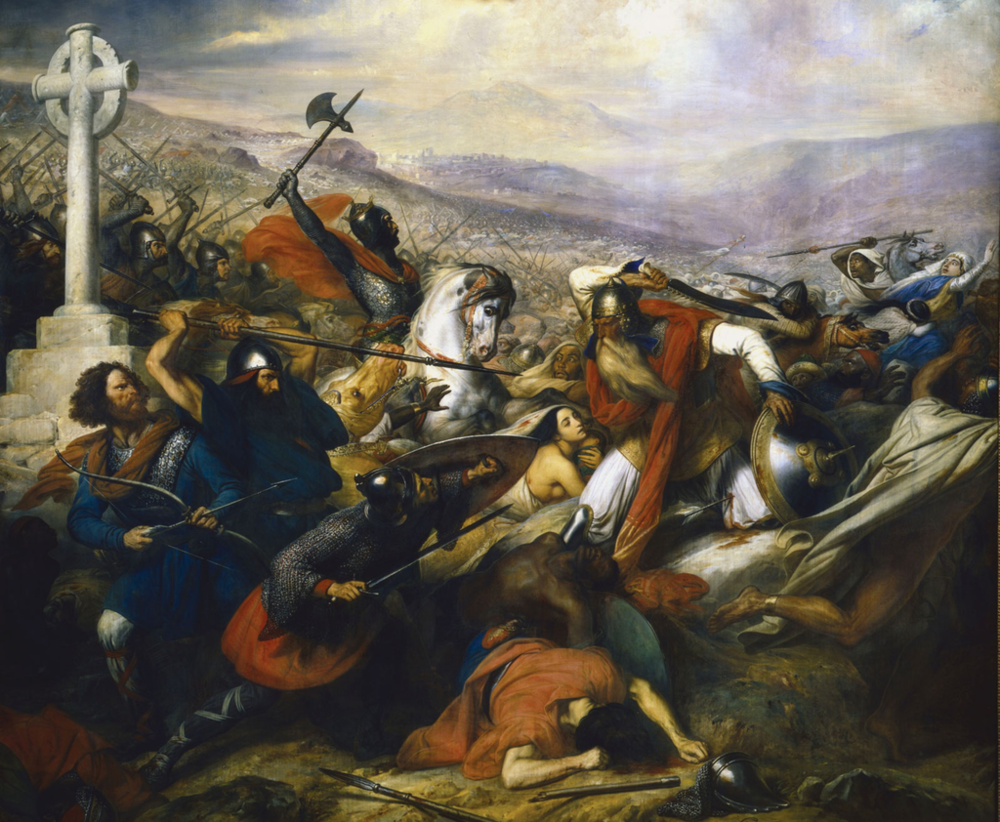 Battle of Tours/Poitiers  (AD 732)