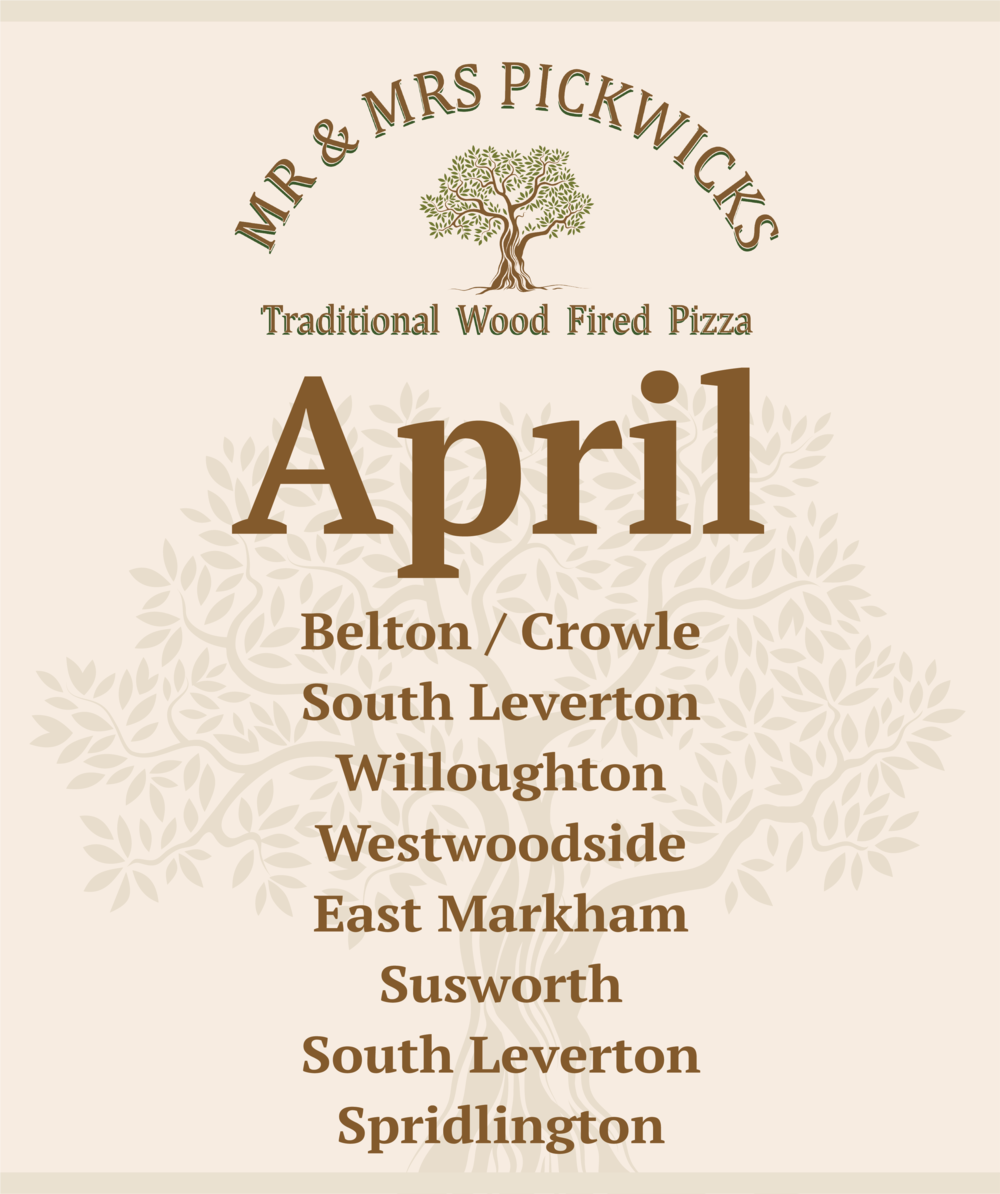 April - Mr & Mrs Pickwick's have a busy AprilJust a taster of where we'll be this month........Belton / CrowleSouth LevertonWilloughtonWestwoodside East MarkhamSusworthSouth Leverton (again😊)SpridlingtonKeep an eye on our Facebook page for event details www.facebook.com/thepickwicks1
