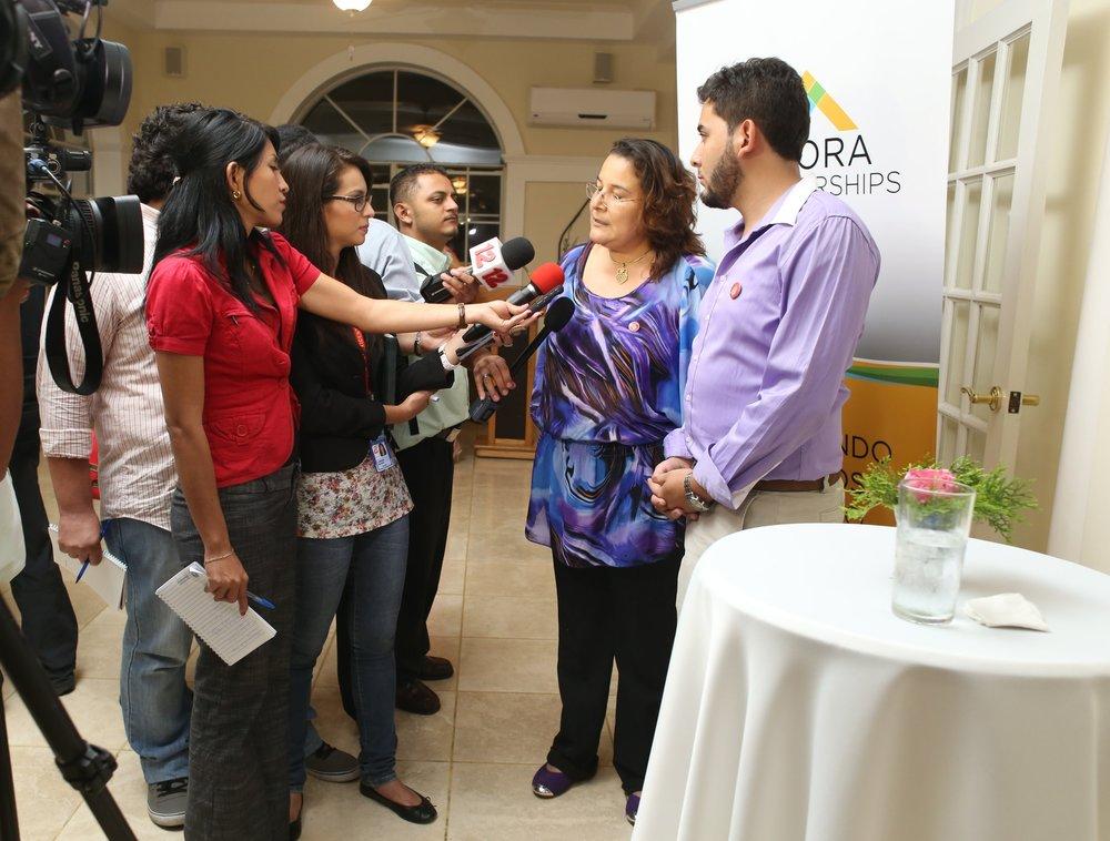 Agora Partnerships - Nicaragua, 2012-2014