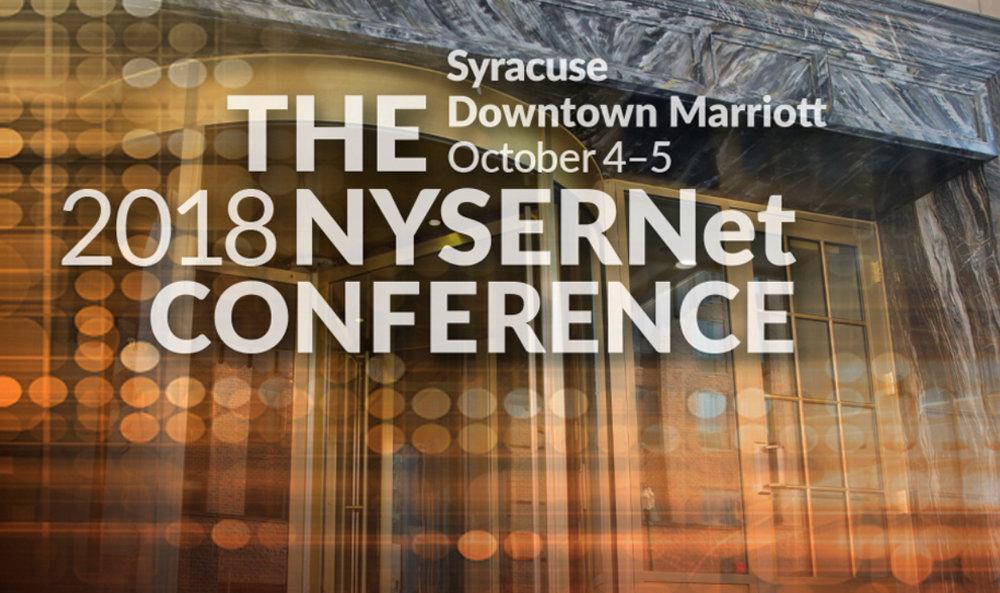 Presentation: NYSERNET CONFERENCE - October 4-5, 2018Presentation Title: