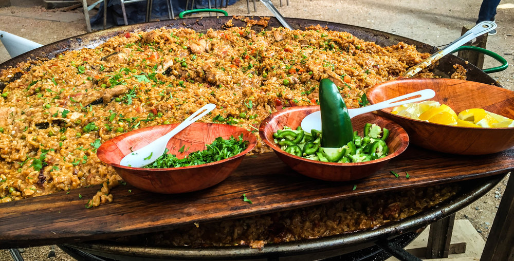 Tall Ship Paella