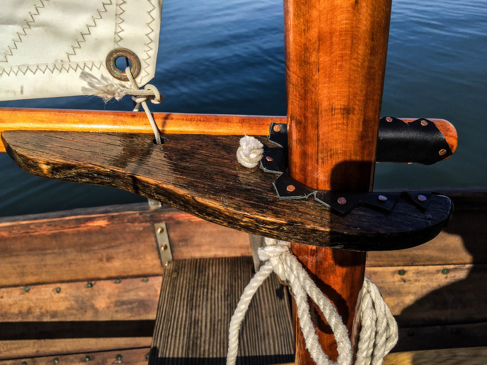 Wooden Boat - Rigging