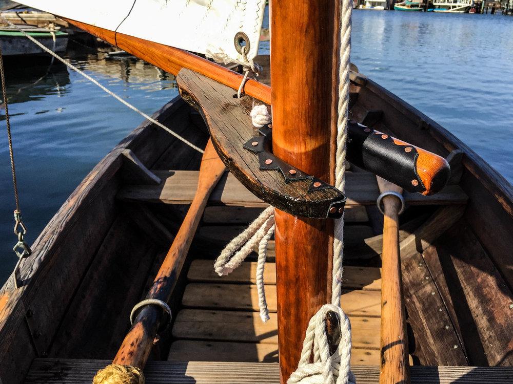 Wooden Boat - Sausalito